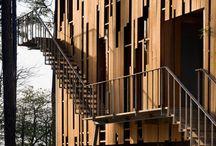 Vertical Wood Screens
