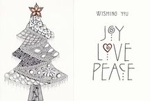 Christmas / Mostly Christmas tree themed cards and paper crafts  / by Karen Sudom