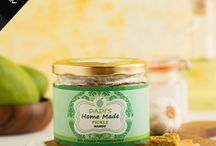Homemade Pickles / Indian meals like Indian movies aren't complete without that extra spice thrown into the mix or without happy endings, and our curated collection of organic Pickles, Chutneys, and After Meals are perfect for creating a variety of food fairy tales. Buy homemade pickles online from an extensive list of veg and non veg pickles ranging Garlic pickle, Mutton pickle, Prawns pickle, Chicken pickle.