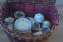 vintage servies / het huren van vintage servies voor hightea