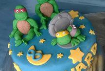 sugar paste cake