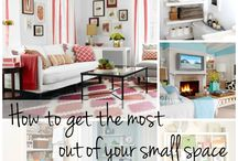Small Spaces / Moving a family of 5 to a small living space