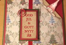 Christmas cards / Scrapbooking