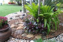 tropical landscaping ideas / Welcome to the dream-yard Pinterest board for tropical landscaping ideas. Tropical landscaping design isn't just for those in the tropics. Maybe you just want to feel like you're on vacation in you backyard? You can also visit us at www.dream-yard.com