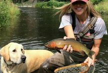 (fly)fishing girls