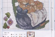 cross stitch - baby