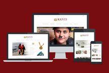 eCommerce Website Designs / Design inspiration for eCommerce website builder AllyOne. allyone.net