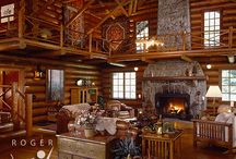 Log Houses / by Sandy Stefanko