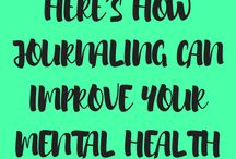 Journaling Therapy / Journaling Tips and Writing Prompts for Anxiety, Depression, Mental Health, Emotional Healing, Trauma.