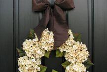 Wreath interior decorating