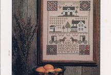 The Prairie Schooler / All The Cross Stitch charts from TPS available at Lou's Atelier Crafts and Books