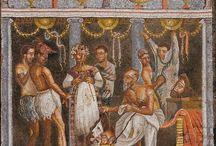 Mosaics Pompei Ercolano Oplontis