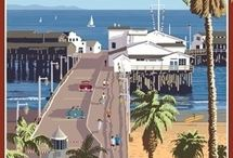 Santa Barbara settings in 'Flying a Kite' / Just one of the locations in my novel 'Flying a Kite'