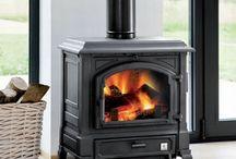 Interior fireplace 85J