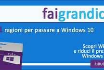 faigrandicose / 10+1 ragioni per passare a Windows 10