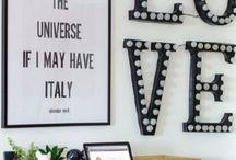 Home office / Ideias para decoração de home office
