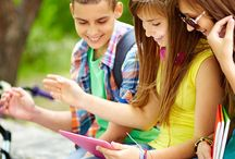Technology for Kids / At CMP we use a variety of technology to foster growth and development in our students!