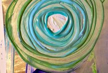 Art Projects For Kids / Fun process art and projects that include a majority of process over product.