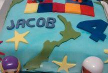 Baking - decorated cakes
