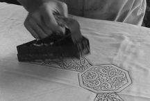 fabric - block printing