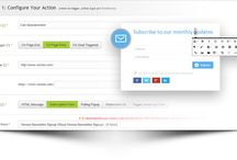 Behavioral Automation / Increase your conversion with smart popups, sticky messages, forced funnel triggers and more.