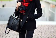 Trend report: Plaid print scarf