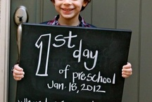 1st day of school / by Teri Bourdages