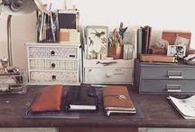 Schreibtisch sachen