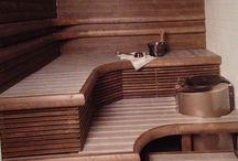 Sauna / Kuvia viehättävistä saunoista, perinteisyyttä, vähän luksusta, tunnelmaa...