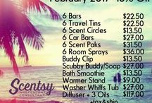 Because I love Scentsy! / Sharing all my current and future Scentsy love