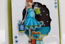 Stamping Bella / Things created with images from Stamping Bella by Copictopia