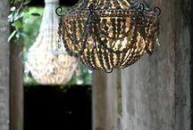 Beaded chandeliers / DIY kralen kroonluchters