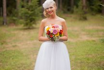Short wedding dresses / Also a bride in short wedding dress can be charming.....