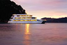 All aboard! Tour the ship / Welcome on board Ipipiri, the flagship vessel of Hauraki Blue Cruises. Ipipiri is a 44.5m (146 foot) four-level cruise catamaran with a sundeck, restaurant and bar, and 30 ocean view cabins with full ensuite.