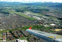 Spotting on SKBO / Aviación comercial en el aeropuerto internacional El Dorado. Bogota, Colombia.