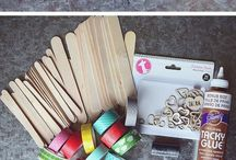 Skapande med glasspinnar