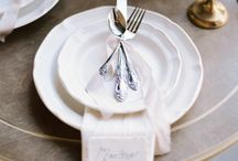 The Perfect Place Setting / by Vintage Wedding Love
