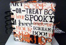 October/Halloween Scrapbook