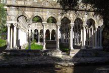 il Chiostro di Sant'Andrea / http://genova72h.altervista.org/il-chiostro-di-santandrea/