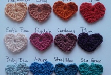 Crochet hearts  / My crochet addiction