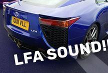 Lexus LFA Revs - Amazing V10 Sound!