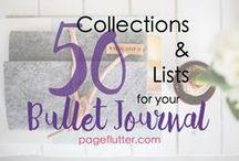 Ideen fürs 'Bullet Journal' ♡
