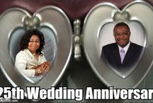 Team Victor's 25th Wedding Anniversary / We want to share our 25 year journey