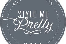 """Darcy's work published in """"Style Me Pretty"""" / My work has been featured in """"Style Me Pretty"""". So excited!!"""