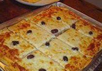 Pizza de liquidificador ao forno