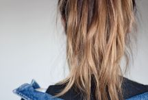 hair / basically pictures of ma hair