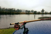 Fishing on the mighty River Tay / Location the Mighty River Tay
