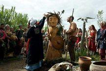 Viking reenactment - familien Odgar