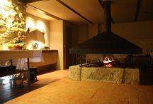 Lareira/ Fire place / Imagine um chá, um chocolate quente ou um copo de vinho a acompanhar o crepitar da nossa lareira.