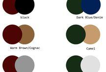 Colours' combinations